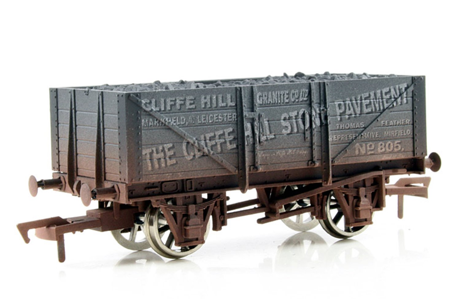 Cliffe Hall 5 Plank Wagon - Weathered