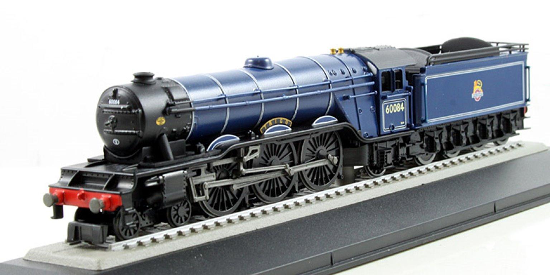 BR Blue A3 Class 'Trigo' 60084 4-6-2 Locomotive , circa 1949-52 (Static Diecast Model)