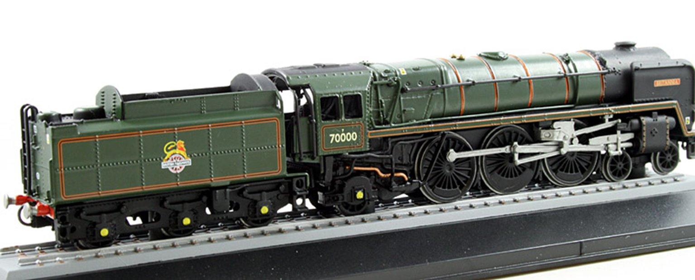 BR Green 4-6-2 Britannia Class 'Britannia' 70000, circa 2012 (Static Diecast Model)