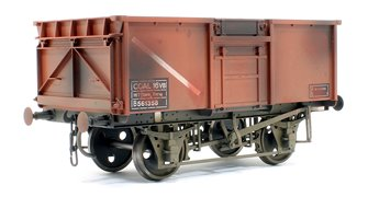16t Mineral Wagon BR Bauxite 561358 Weathered