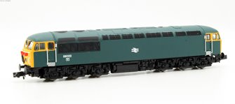 Class 56 diesel locomotive 56022 in BR blue. DCC Fitted