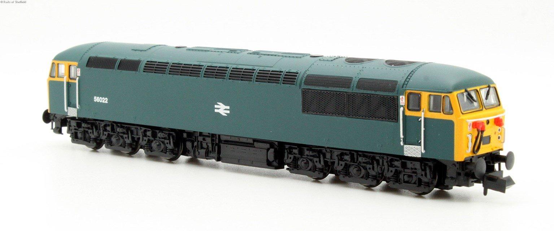 Class 56 diesel locomotive 56022 in BR blue