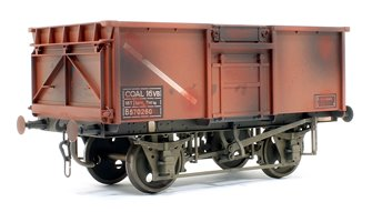 16t Mineral Wagon BR Bauxite 570260 Weathered