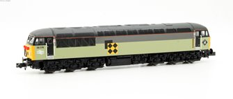Class 56 diesel locomotive 56016 in Railfreight triple grey coal sector