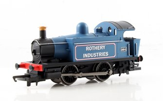 RailRoad BR (Ex-GWR) 0-4-0 'Rothery Industrial' 101 Class Locomotive