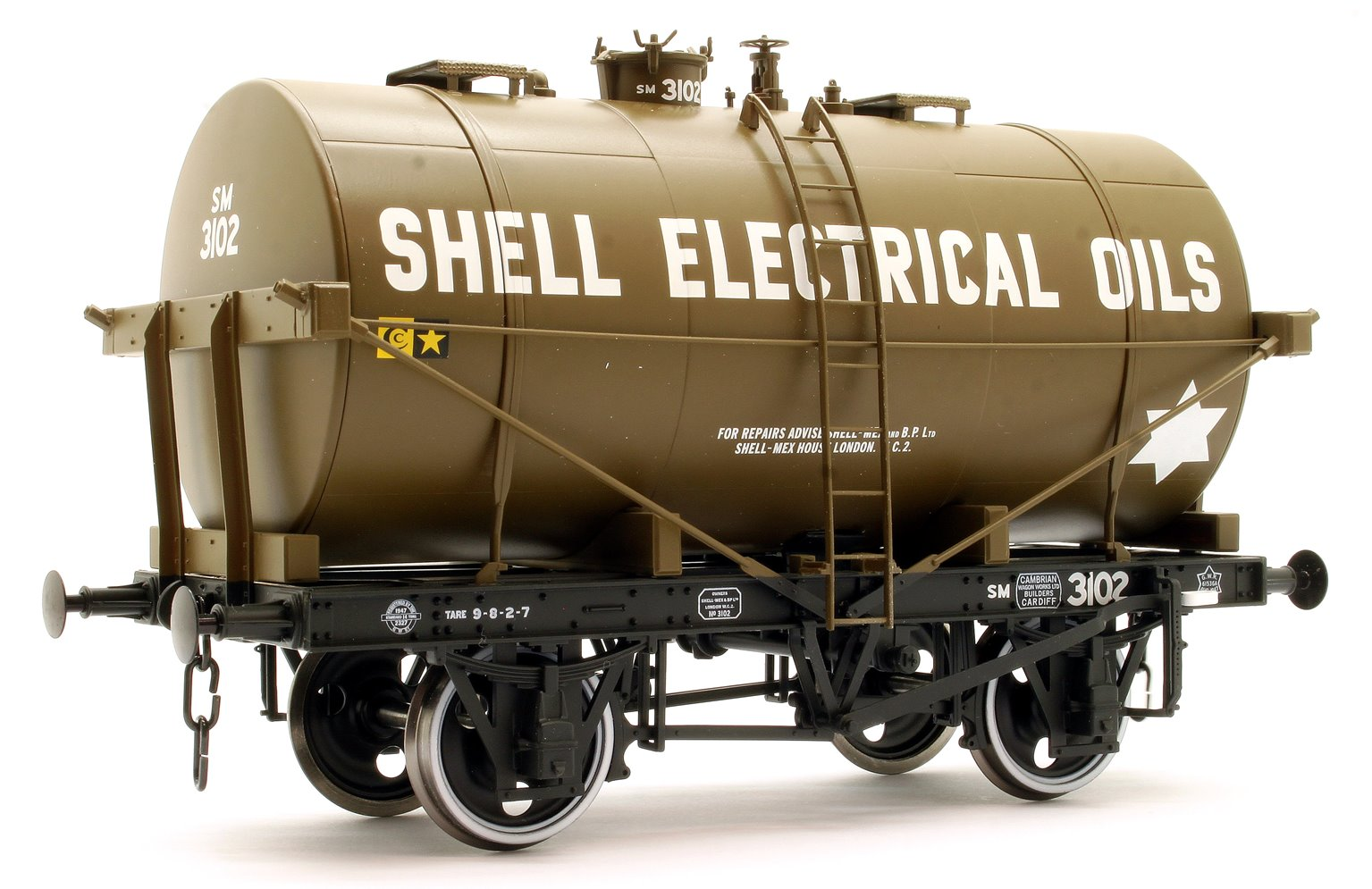 14T Tank Wagon Class B Shell Electrical Oils 2442