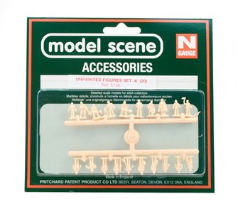 Modelscene 5156 Assorted Unpainted Figures Set A