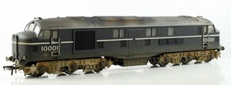 LMS Twin 10001 BR Black/Chrome Diesel Locomotive