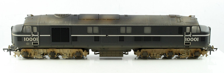 LMS Twin 10001 BR Black/Chrome Diesel Locomotive