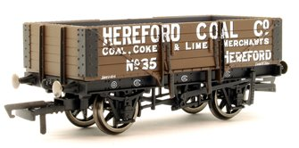 5 Plank Wagon, 'Hereford Coal Company' No. 35
