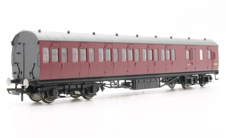 BR (exLMS) Maroon 57' Non-Corridor Third Class Brake Coach Crimson No.20788M