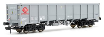 Ermewa Grey MMA / JNA Box Wagon 5500 059-7 with tail lamp