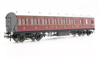 LMS Period III 57' Non-Corridor Third Class Brake Coach No.20754