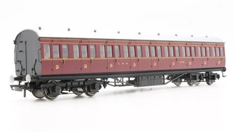 LMS Period III 57' Non-Corridor Third Class Coach No.11718