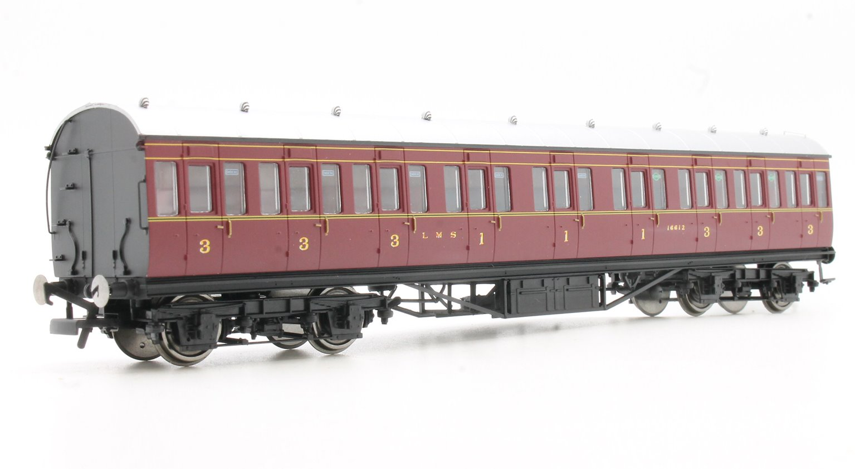LMS Non-Corridor 57' Composite Coach
