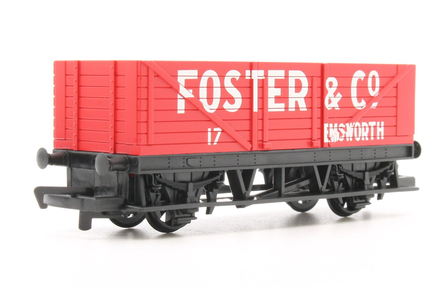 RailRoad 3 Pack - Open Wagons