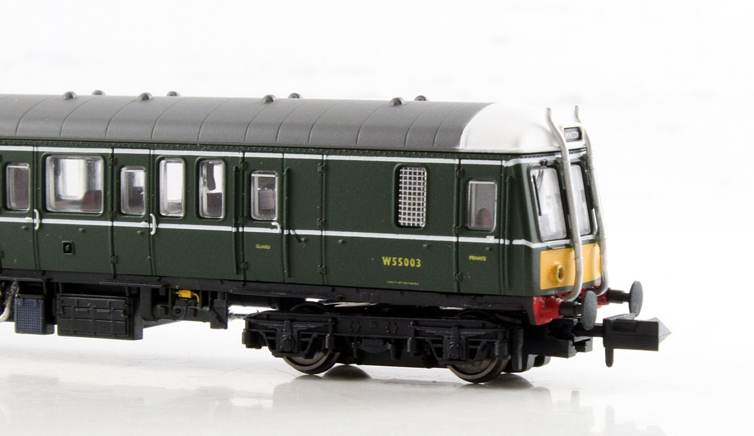 Class 122 W55003 BR Green SYP (Unpowered Dummy)