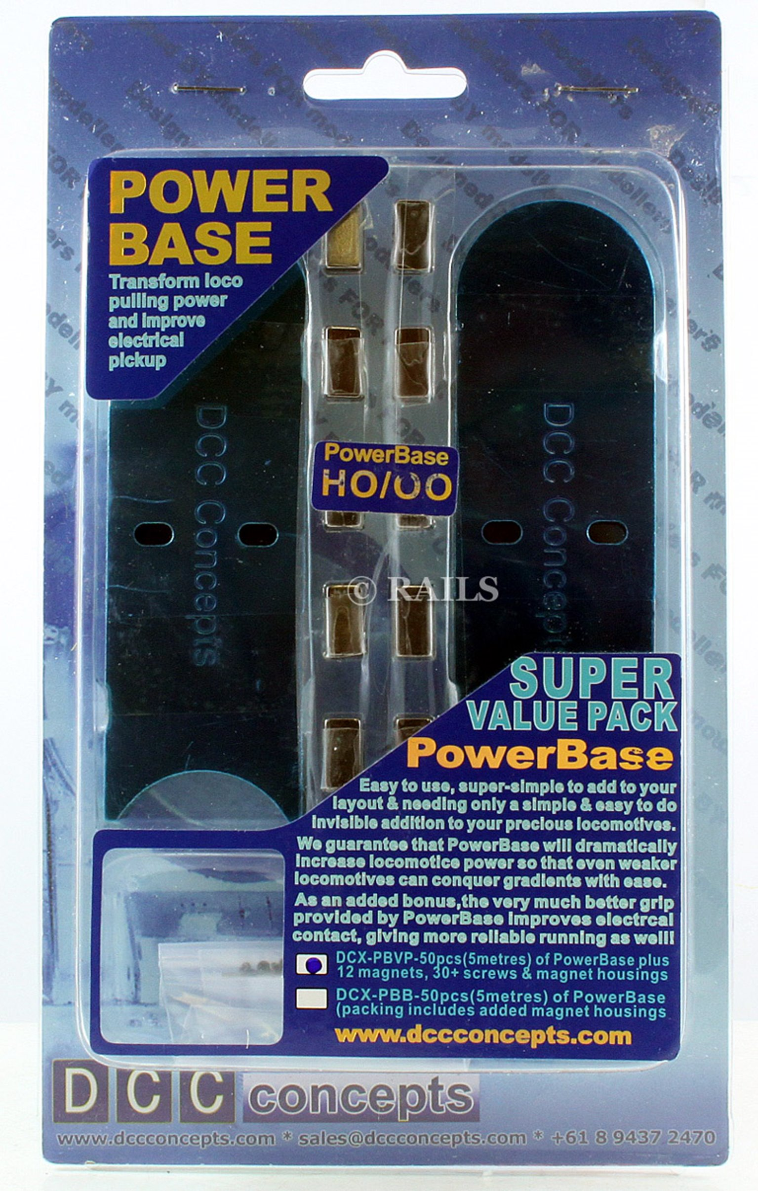 PowerBase Value Pack OO/HO Scale