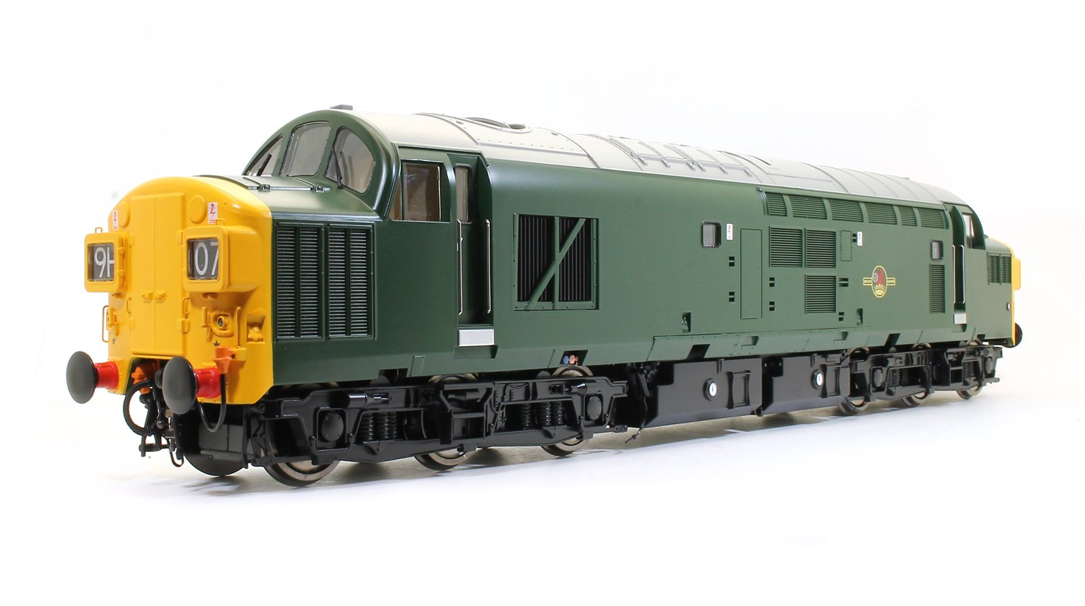 Class 37 (Unnumbered) BR Green (full yellow ends) Diesel Locomotive