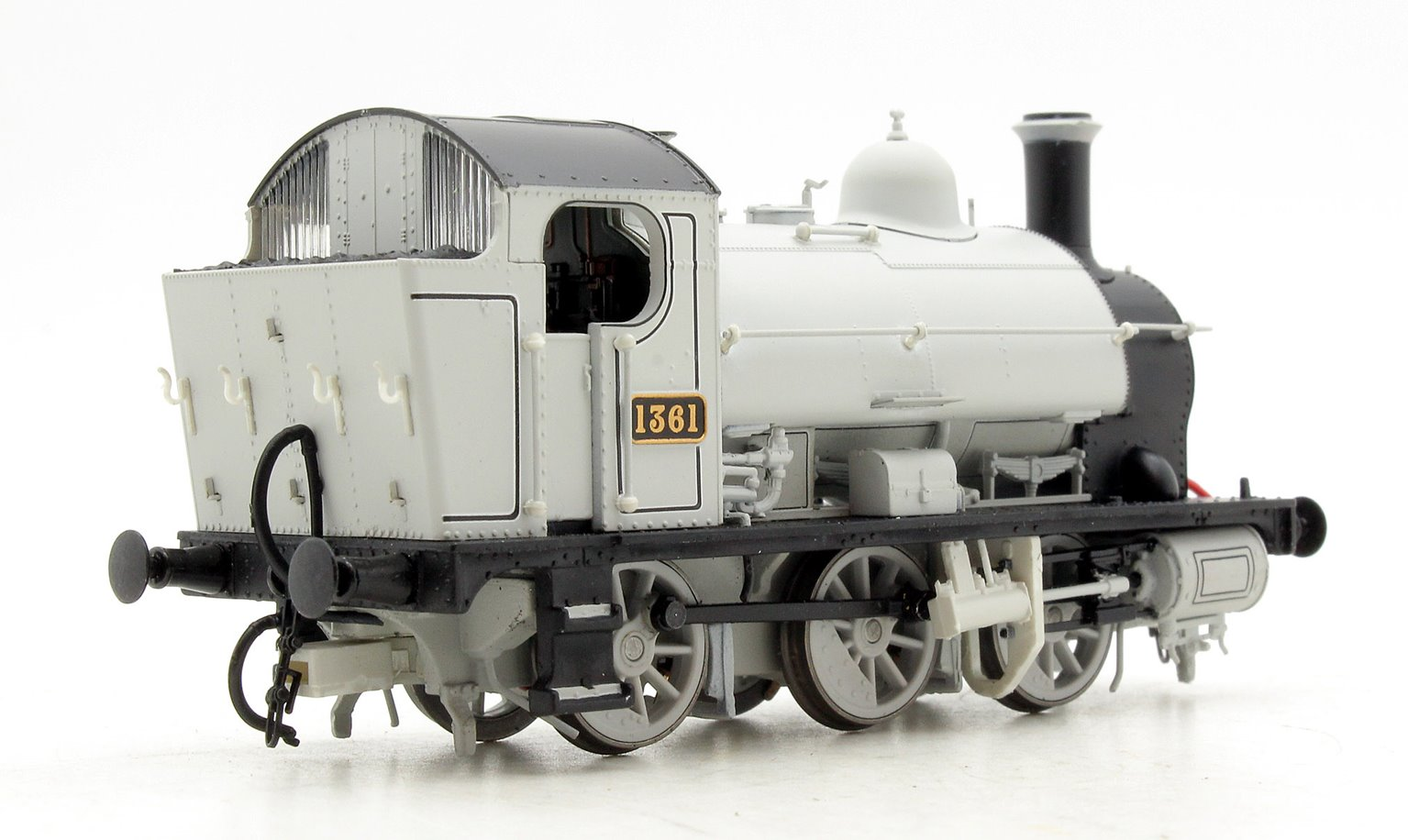 GWR 0-6-0ST 1361 Photographic Grey livery