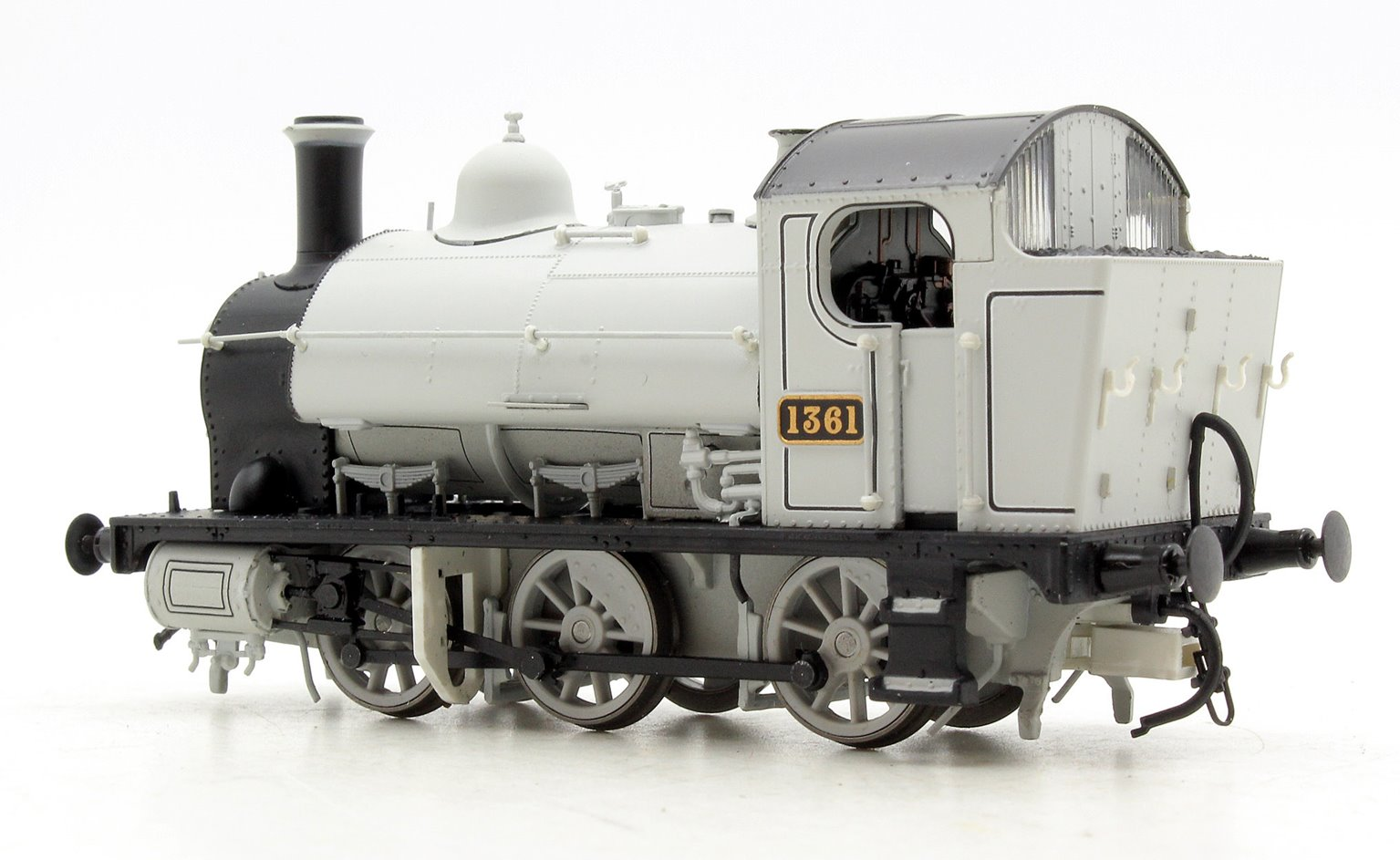 GWR 1361 Class 0-6-0 Tank Locomotive in Photographic Grey livery
