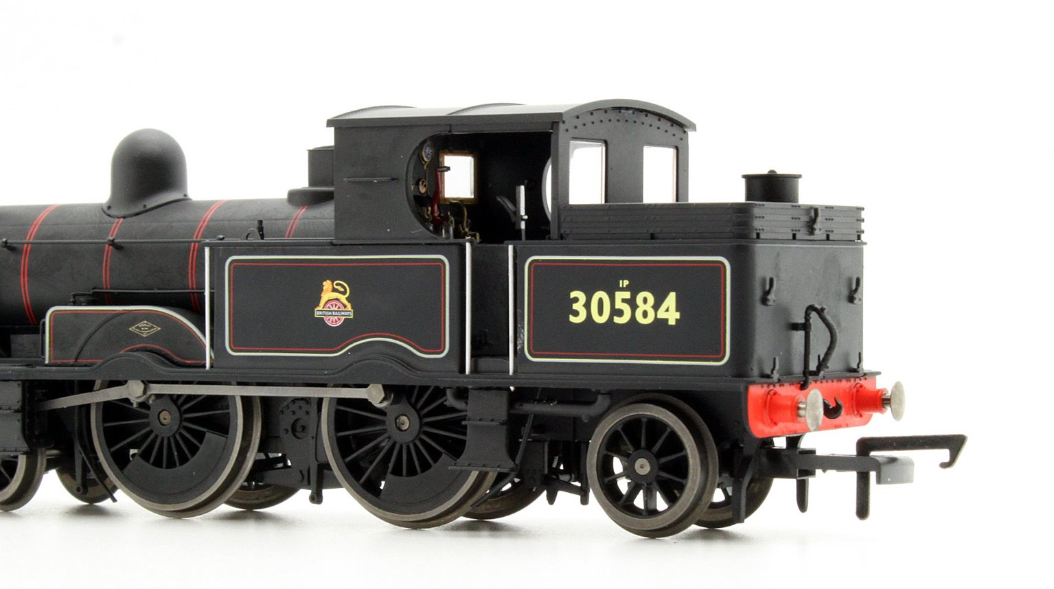 Adams Radial 4-4-2T 30584 in BR early black Locomotive