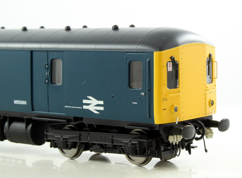 Class 128 DPU #M55993 BR Blue Diesel Locomotive