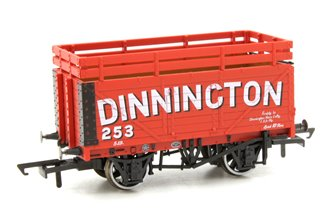 Coke Wagon 7 plank Dinnington 254 with 2 Coke Rails