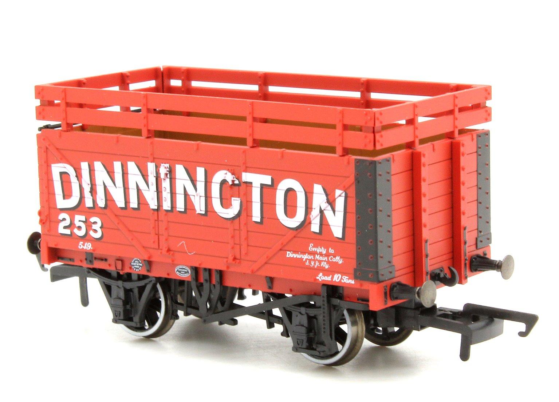 Coke Wagon 7 plank Dinnington 254 with 2 Coke Rails