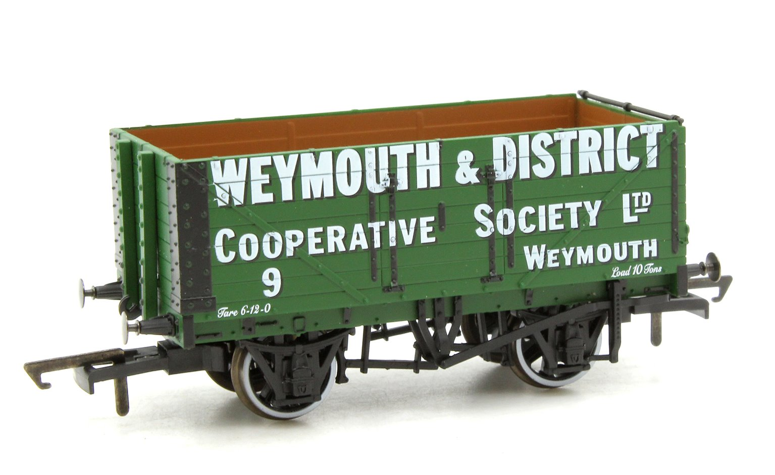 7 Plank Mineral Wagon Weymouth & District Co-op No.9