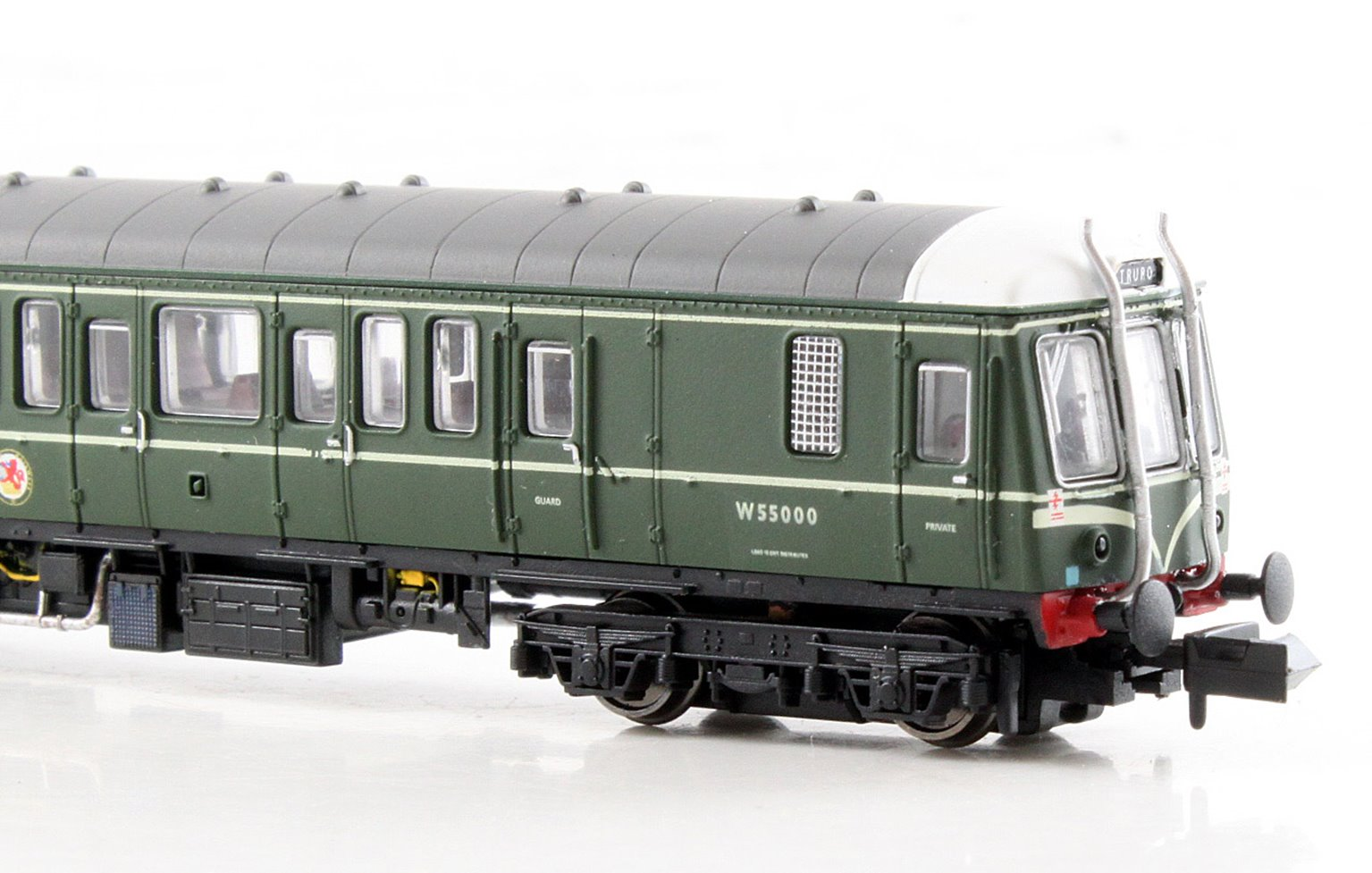 Class 122 55000 BR Green with Whiskers