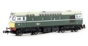 Class 27 BR Green SYP D5401 DCC Fitted