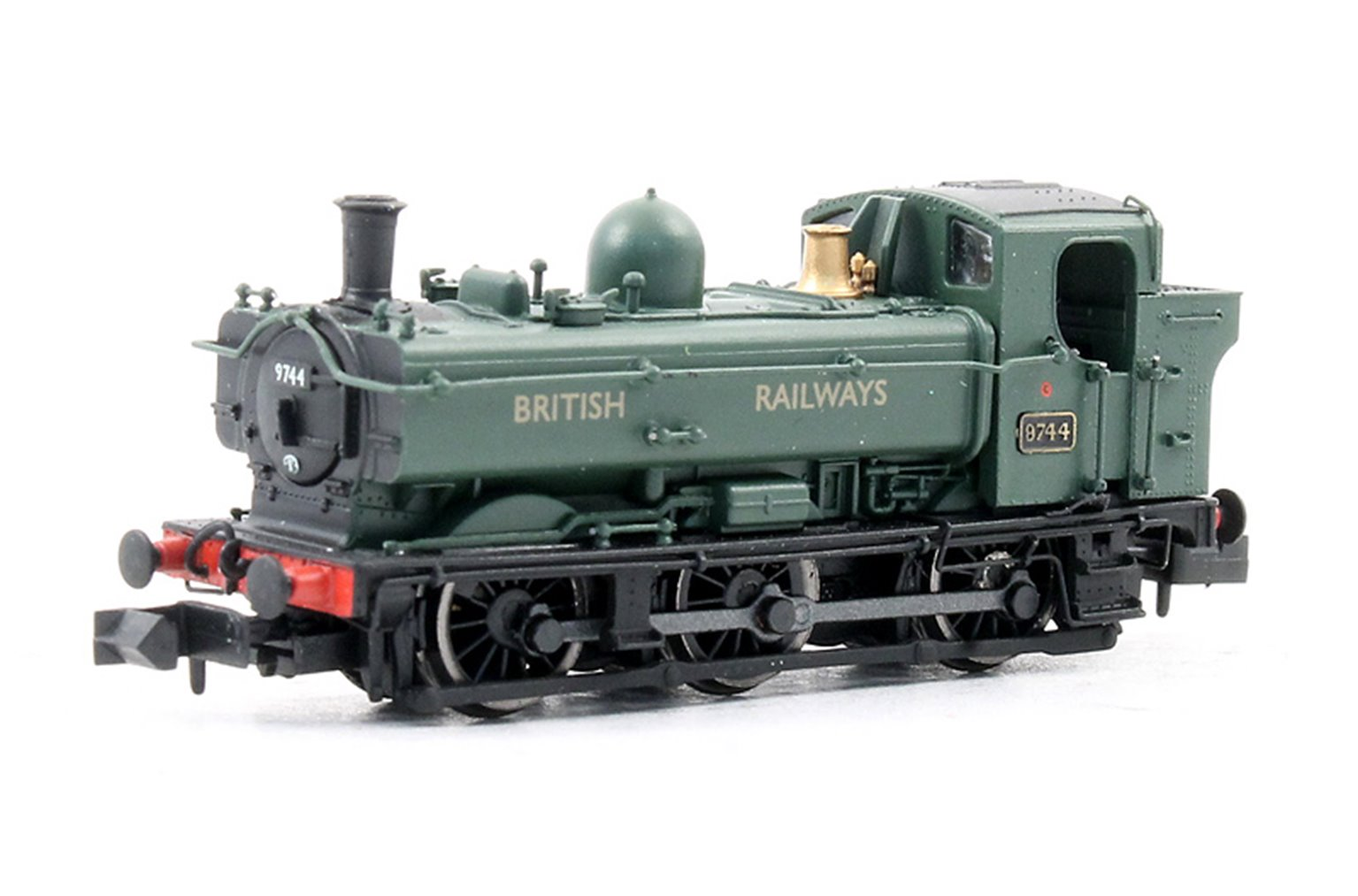 Class 57xx Pannier 0-6-0 #9744 In 'British Railways' Green livery - DCC
