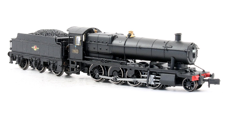 Dapol Class 38xx 2-8-0 #3822 in BR Black Late Logo - DCC