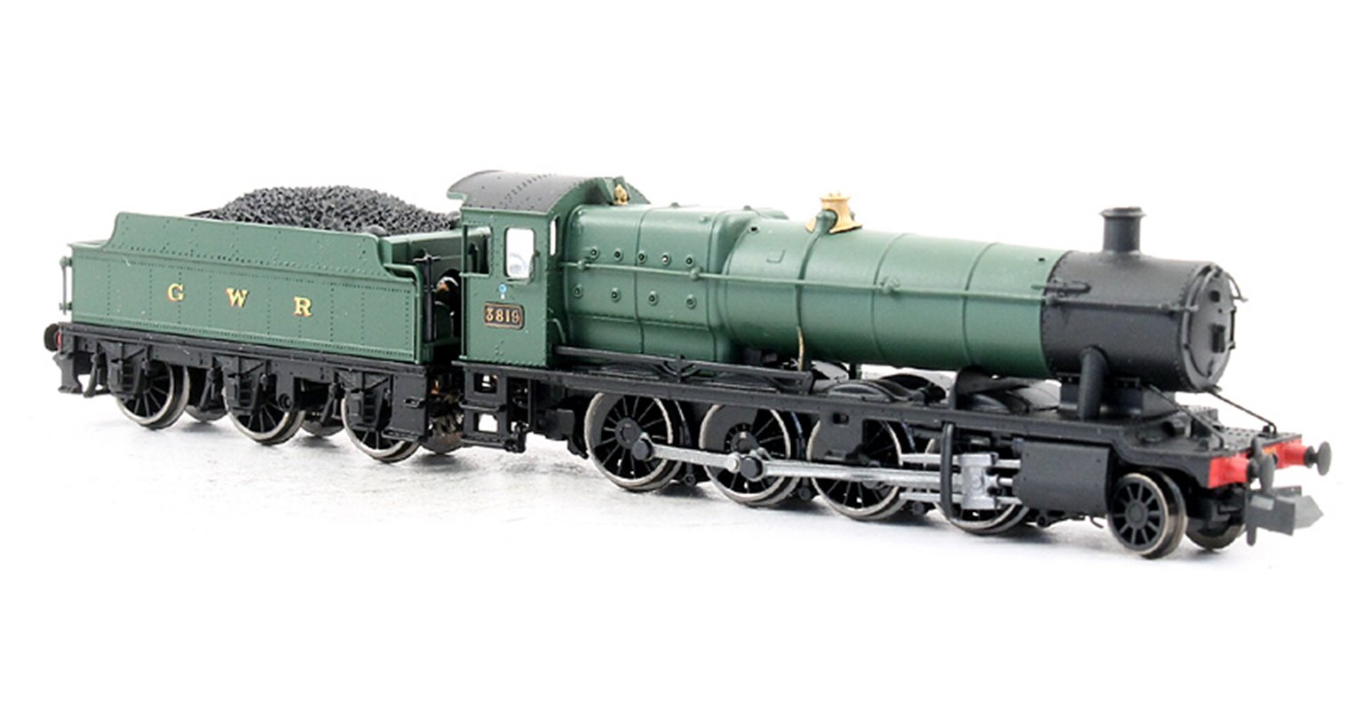 Class 38XX GWR 2-8-0 #3819 in 'GWR' Green - DCC
