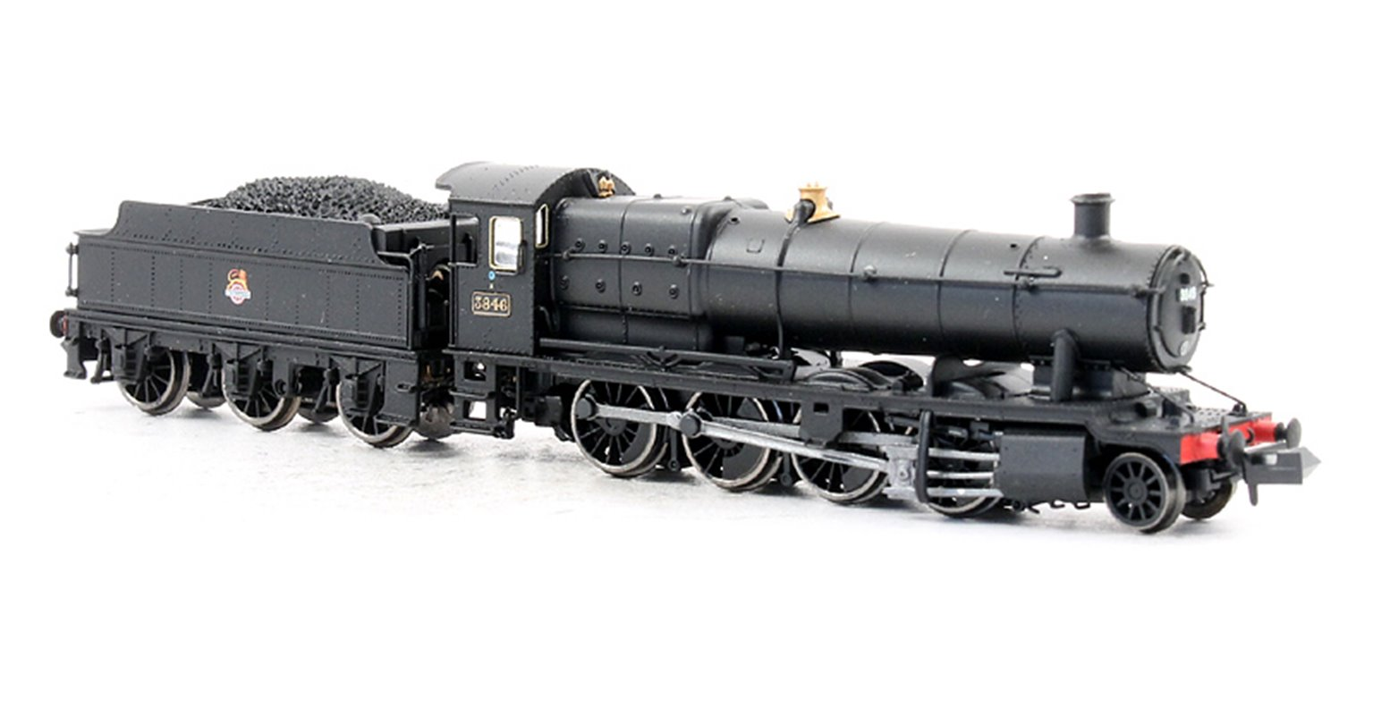 Class 38XX 2-8-0 #3846 in BR Black Early Logo - DCC