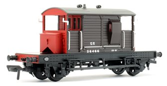 SR 25T 'Pill Box' Brake Van Right-Hand Duckets SR Brown