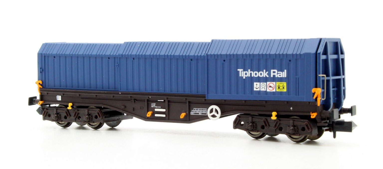 Dapol 2F-039-009 Telescopic Hood Wagon Tiphook Blue 33 70 0899 046-3