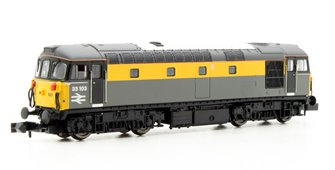 Class 33/1 #33103 Engineers Grey/Yellow 'Dutch'