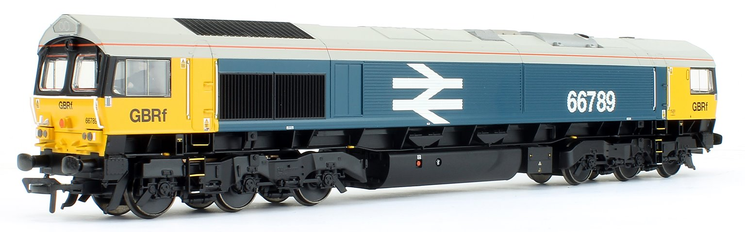 Class 66/7 66789 'British Rail 1948-1997' GBRf BR Blue (Large Logo) - DCC Sound