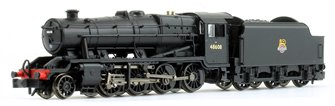 LMS Stanier Class 8F BR Black (Early Emblem) 2-8-0 Steam Locomotive No.48608