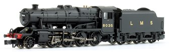 LMS Stanier Class 8F LMS Black (Revised) 2-8-0 Steam Locomotive No.8035