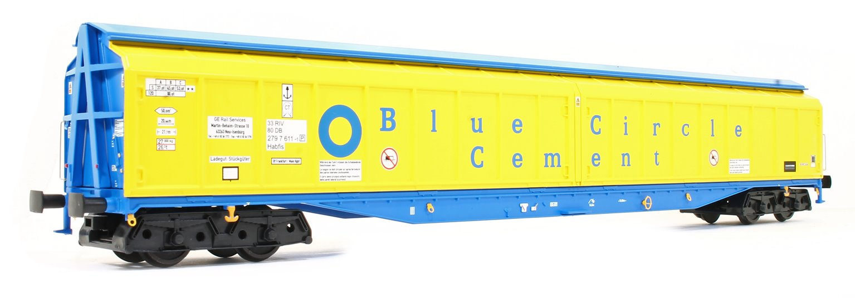 Cargowaggon IWB Bogie Van Blue Circle Cement 2797 611-1