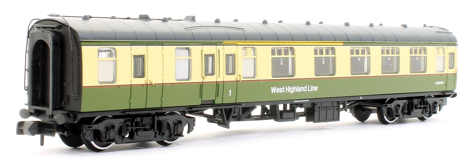 BR Mk1 TSO & BSK 2-Coach Pack BR West Highland Line Green & Cream