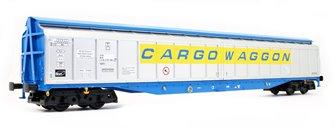 Cargowaggon IWB Bogie Van Silver/Blue 2797 596