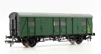 Ex-Southern PMV Parcels & Miscellaneous Van BR Green (Black Ends)
