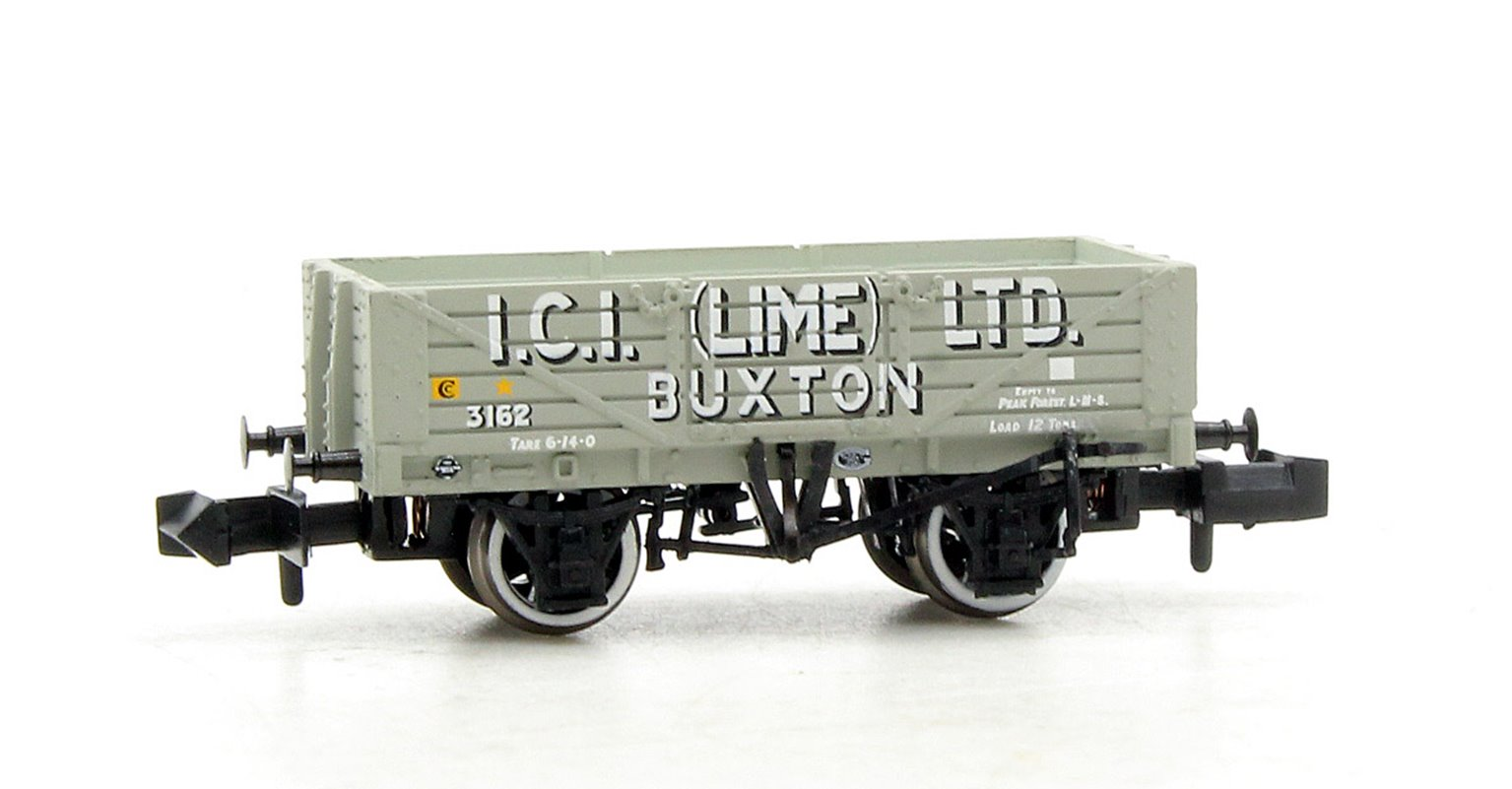 5 Plank Wagon with Steel Floor 'ICI Lime' with Load