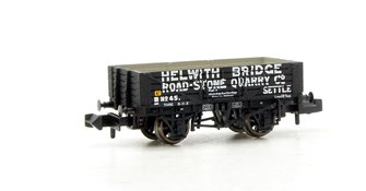 5 Plank Wagon Helwith Bridge Road Stone Quarry - with wagon load