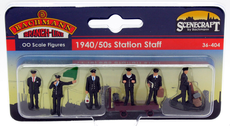 Figures - 1940/50s Station Staff