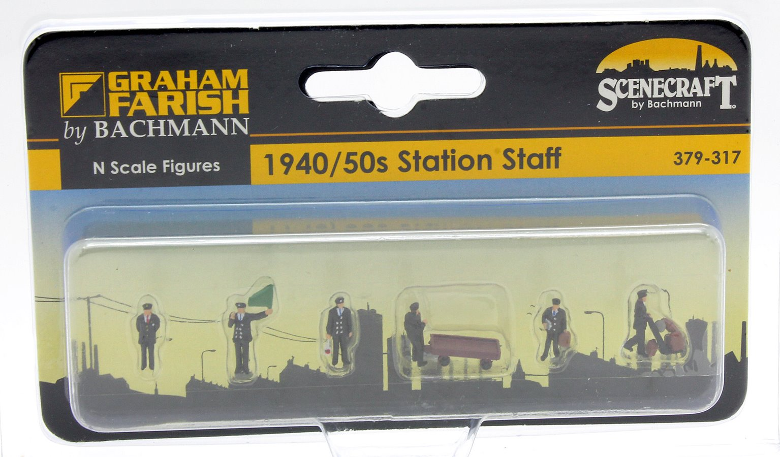 Figures - 1940/50s Station Staff